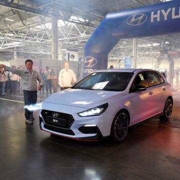 Společnost Hyundai zahajuje výrobu modelu i30 N, letos stihne vyrobit 1 450 kusů