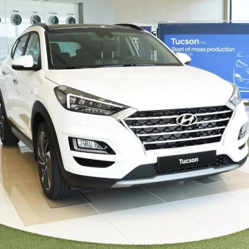 Nošovice Hyundai car plant has begun producing the new Tucson