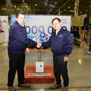 The Nošovice Hyundai car plant has already produced four million gearboxes