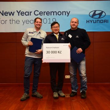 Nošovice car plant Hyundai recognises its best employees