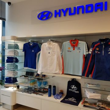 Hyundai's Nošovice car plant opens gift shop