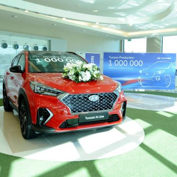 Another milestone for the Hyundai Tucson: 1 million units produced.