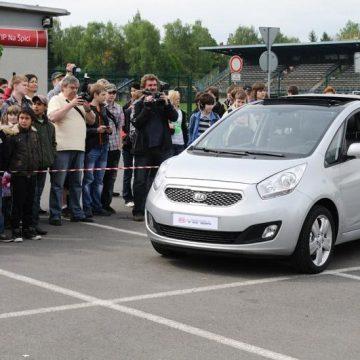 Hyundai i30 a Kia Venga přiblíží dětem své bezpečnostní prvky