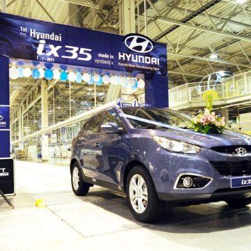 Zahájení sériové výroby modelu Hyundai ix35 v závodě HMMC