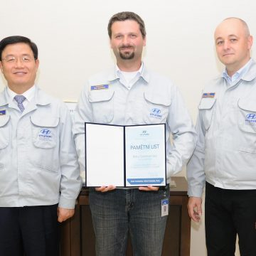Ocenění zaměstnance HMMC za záchranu života
