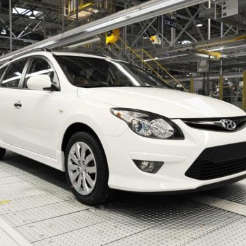 Poslední vyrobený kombi Hyundai i30cw
