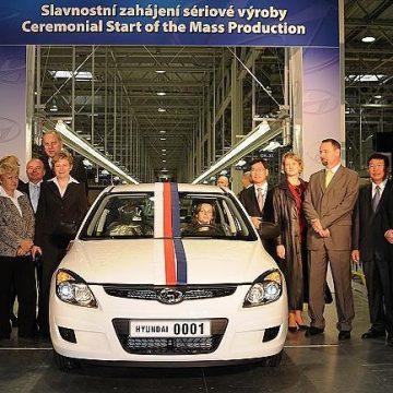 Závod Hyundai v Nošovicích vyrábí auta už pět let