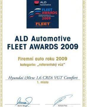 Hyundai i30cw se stal firemním autem roku 2009