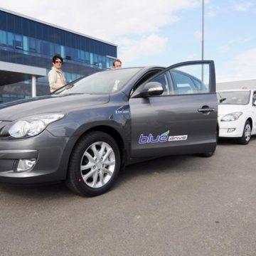 """Dnes ze závodu Hyundai v Nošovicích odstartovala """"Eco Drive 2009"""""""