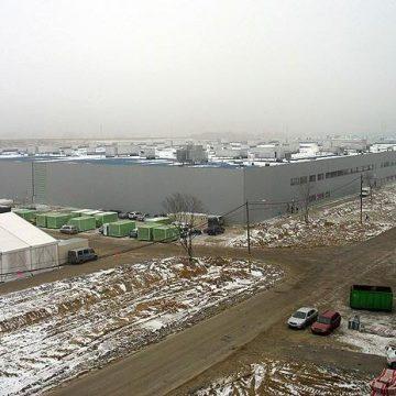 Stav projektu Hyundai v Nošovicích