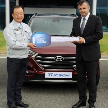 Hyundai předal Letišti Leoše Janáčka tři automobily