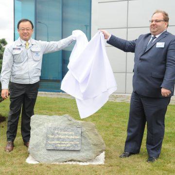 Hyundai slaví 7. výročí zahájení výroby v nošovickém závodě HMMC