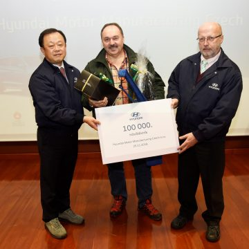 Hyundai Nošovice car plant welcomes its 100000th visitor