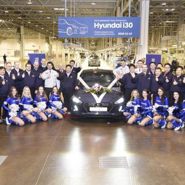 Nošovický závod Hyundai zahájil výrobu i30 třetí generace