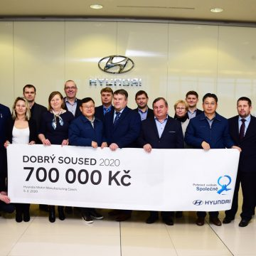 Good neighbor Hyundai will support selected projects in the surrounding municipalities with 700,000 CZK this year