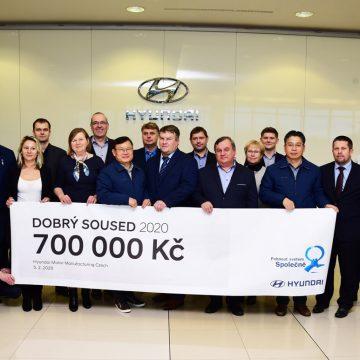 Dobrý soused Hyundai letos podpoří vybrané projekty v okolních obcích částkou 700 tisíc korun