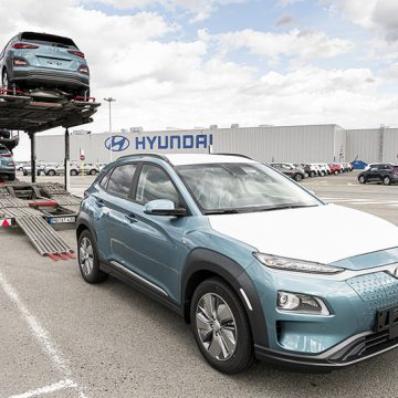 Hyundai starts delivery of Kona Electric produced in Czech Republic