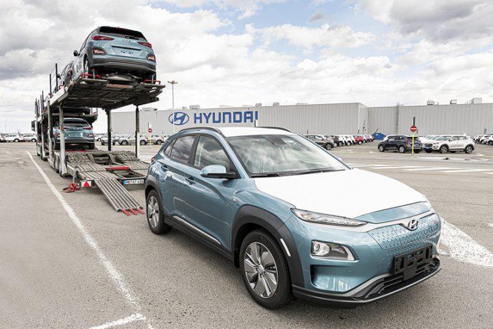 Hyundai zahájil distribuci Kony Electric vyrobené v České republice