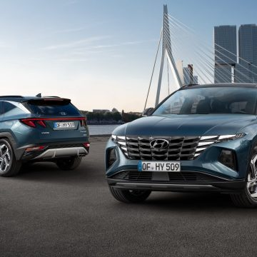 The all-new Hyundai Tucson: a smart tech hero with a standout design