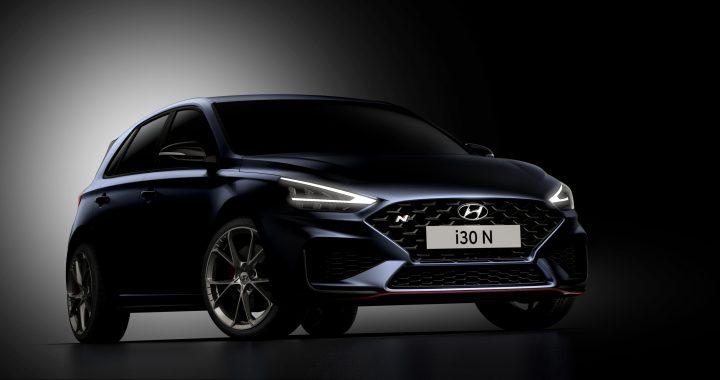 Nový Hyundai i30 N přichází s novým designem a dvojspojkovou převodovkou