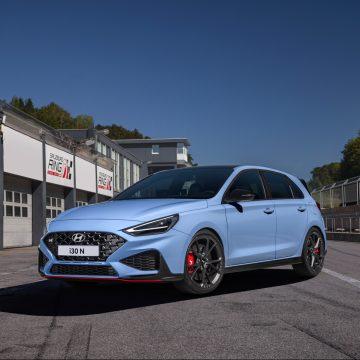 Nejen bleskurychlé řazení: Nový Hyundai i30 N přichází s řadou vylepšení pro maximální potěšení z jízdy