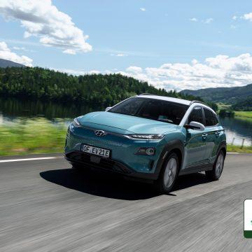 Hyundai Kona Electric získal pět hvězdiček v testech Green NCAP