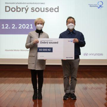 Hyundai Motor Manufacturing Czech donated 700 000 CZK in a Good Neighbour program