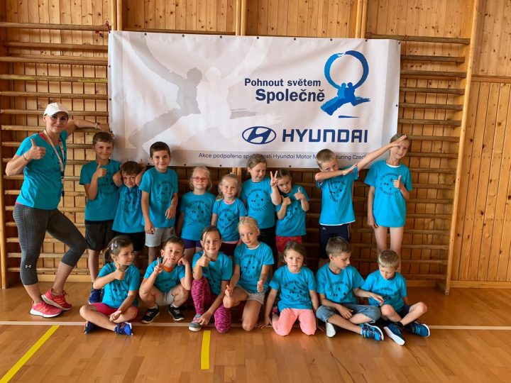 Thanks to grants, Hyundai Nošovice will help sportsmen, children, handicapped people and culture