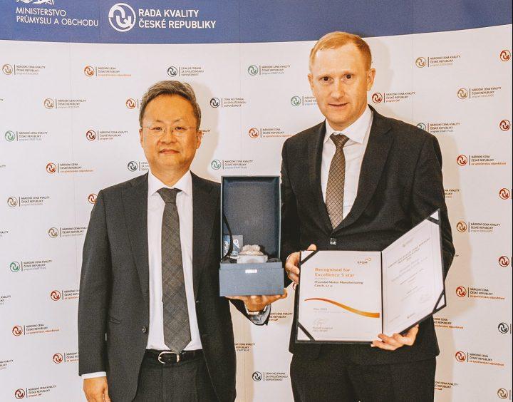 Nošovický Hyundai je znovu držitelem Národní ceny kvality v programu Excelence